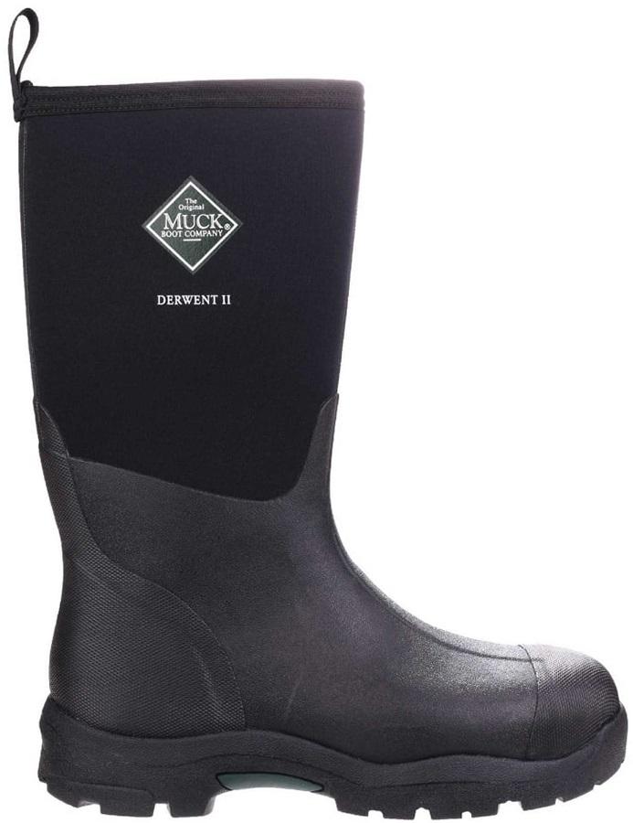 Muck Boot Derwent II Men's Wellies, UK 10 Black