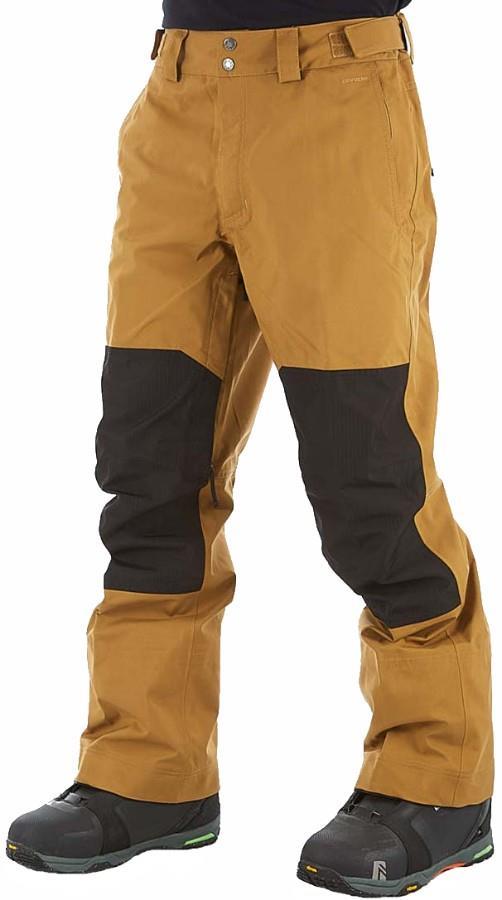 The North Face Uni DRT Ski/Snowboard Pants M Khaki/TNF Black