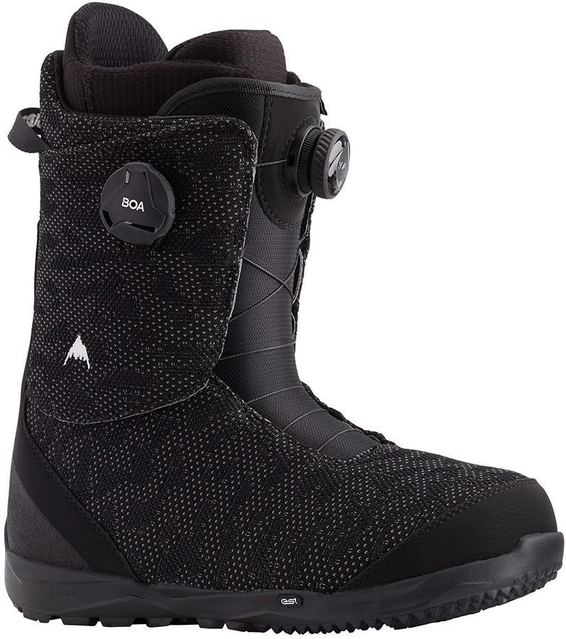 Burton Swath Boa Men's Snowboard Boots, UK 10.5 Black 2021