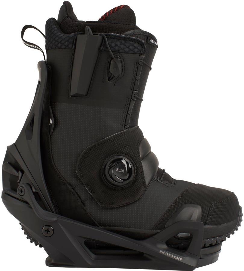 Burton Ion Step On Snowboard Binding & Boots, UK 11 Black/Black 2021
