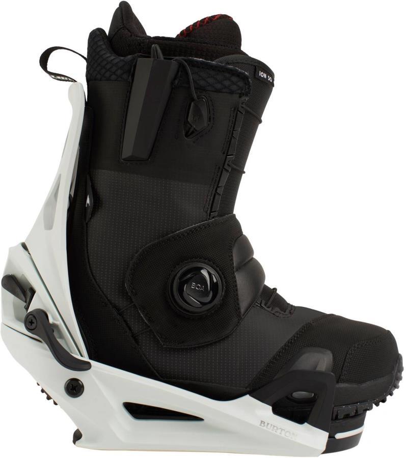 Burton Ion Step On Snowboard Binding & Boots, UK 10 Black/Gray 2021
