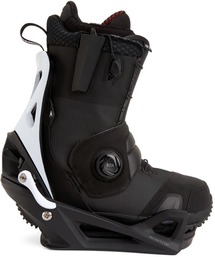 Burton Ion Step On Snowboard Binding & Boots, UK 10 Black X 2021