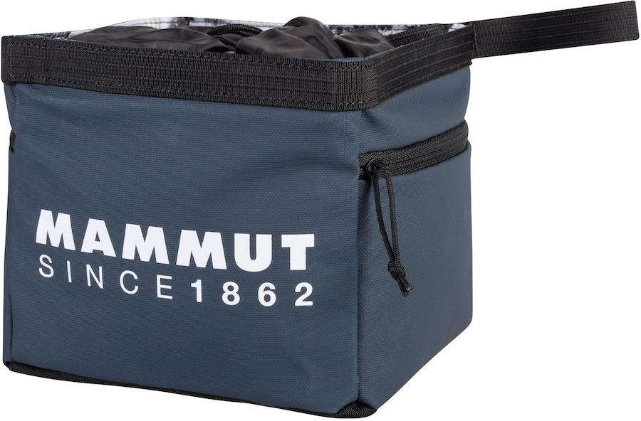 Mammut Boulder Cube Rock Climbing Chalk Bag, Marine