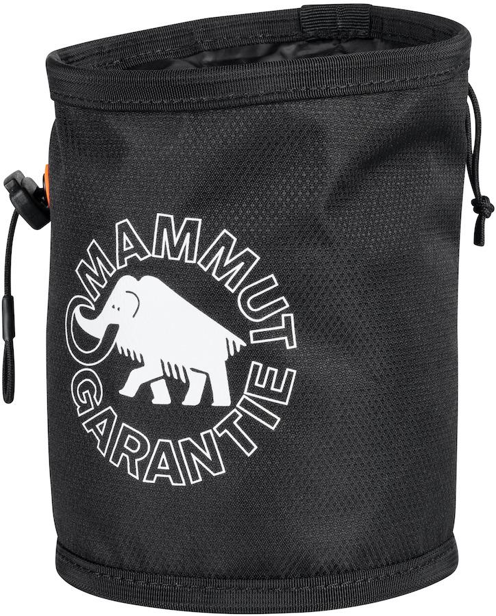 Mammut Gym Print Rock Climbing Chalk Bag, Black
