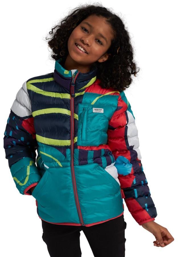Burton Child Unisex Kids Evergreen Down Insulator Jacket, M Graphic Mix