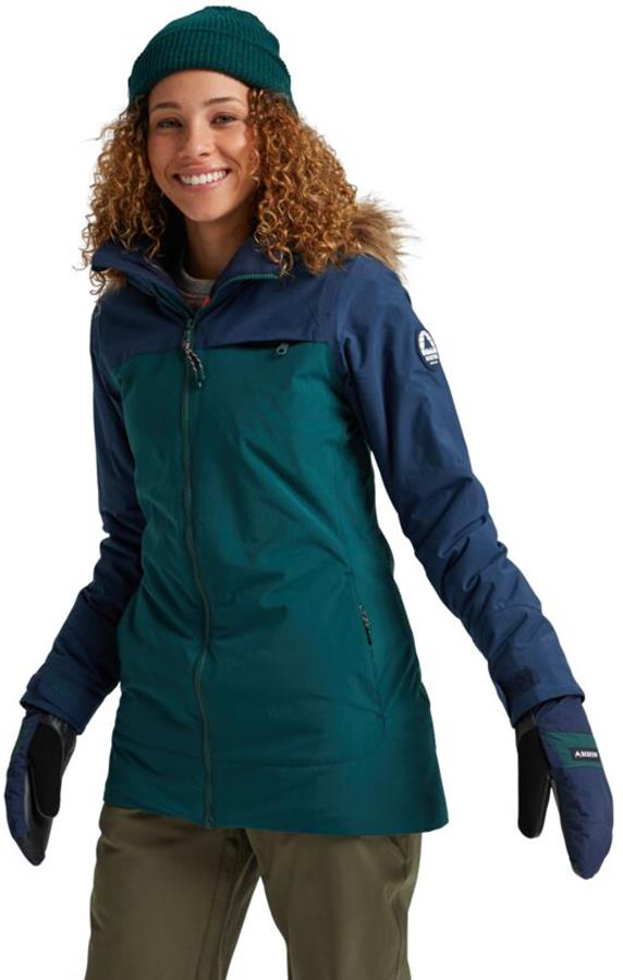Burton Lelah Women's Ski/Snowboard Jacket, S Dress Blue/Ponderosa