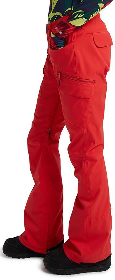 Burton Gloria Women's Ski/Snowboard Pants S Hibiscus Pink