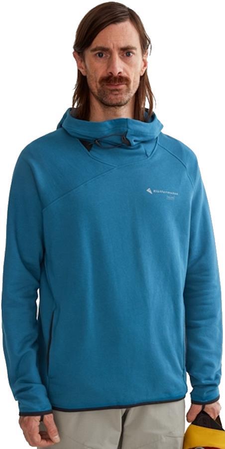 Klattermusen Falen Men's Pullover Hoodie, L Blue Sapphire