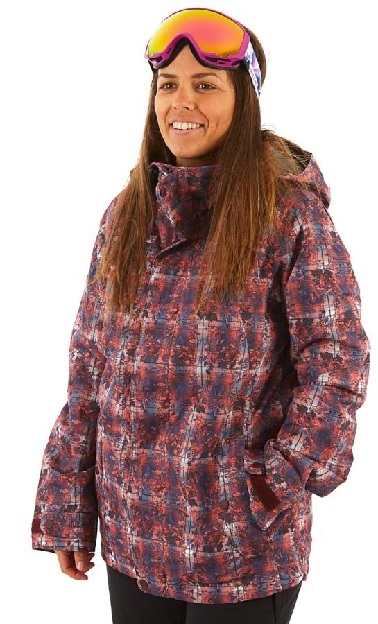 Burton Jet Set Women's Snowboard/Ski Jacket, M Nevermind Floral