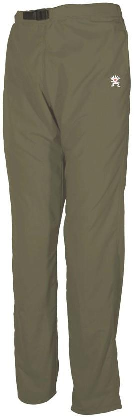 "Troll Omni Pants Quick Drying Climbing Trousers, M - waist 32"" Stone"