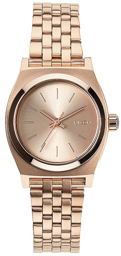 Nixon Small Time Teller Women's Analog Watch All Rose Gold