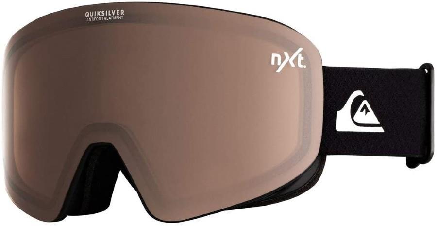 Quiksilver QS_Rc Nxt - Amber Ski/Snowboard Goggles, M/L Black
