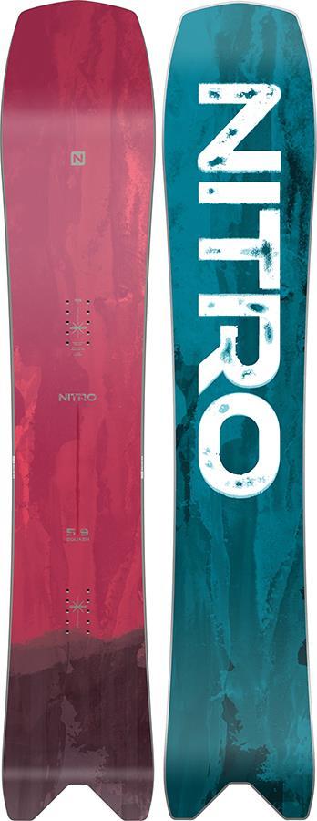 Nitro Squash True Camber Snowboard, 159cm Mid Wide 2021