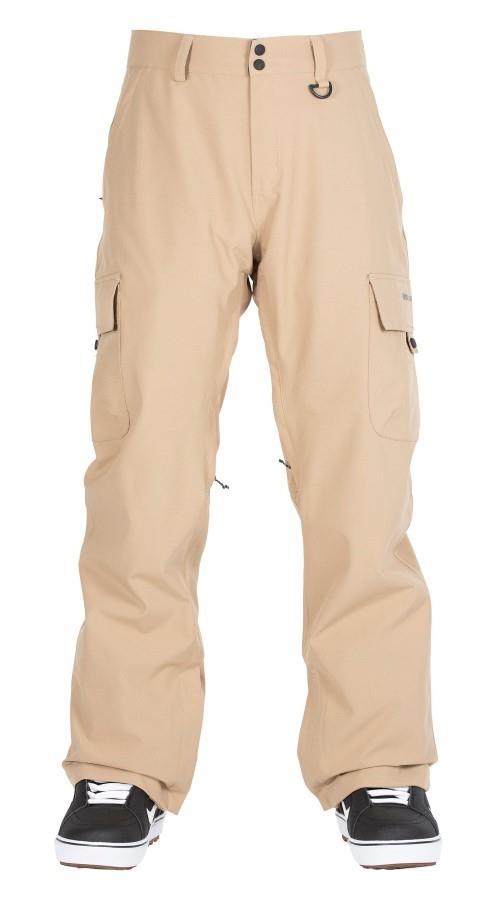 Bonfire Adult Unisex Tactical Ski/Snowboard Pants, S Desert
