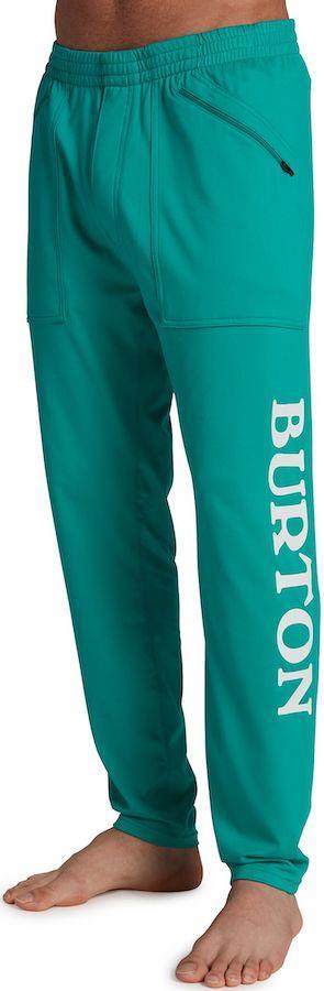Burton Adult Unisex Midweight Stash Men's Base Layer Pants, M Dynasty Green