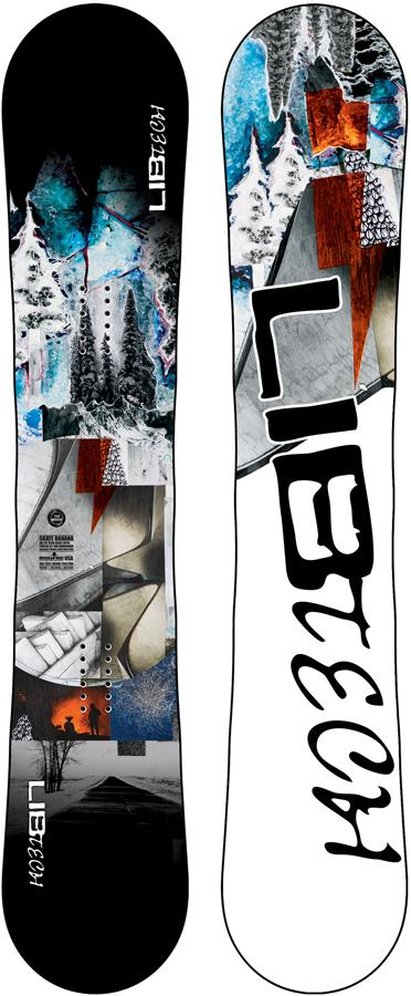 Lib Tech Skate Banana Hybrid Camber Snowboard, 159cm 2022
