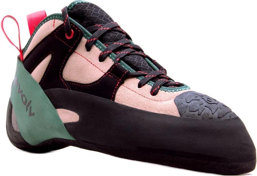 Evolv The General Rock Climbing Shoe, UK 6 l EU 39.5 Tan/Army/Green