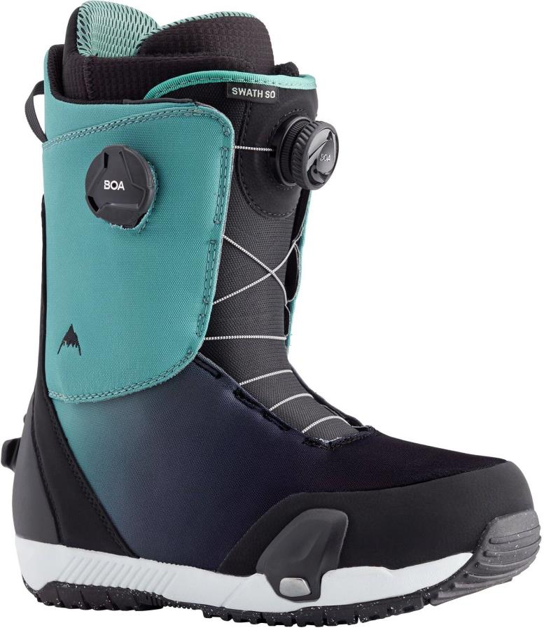 Burton Swath Boa Step On Snowboard Boots, UK 9 Slate/Black Fade 2021
