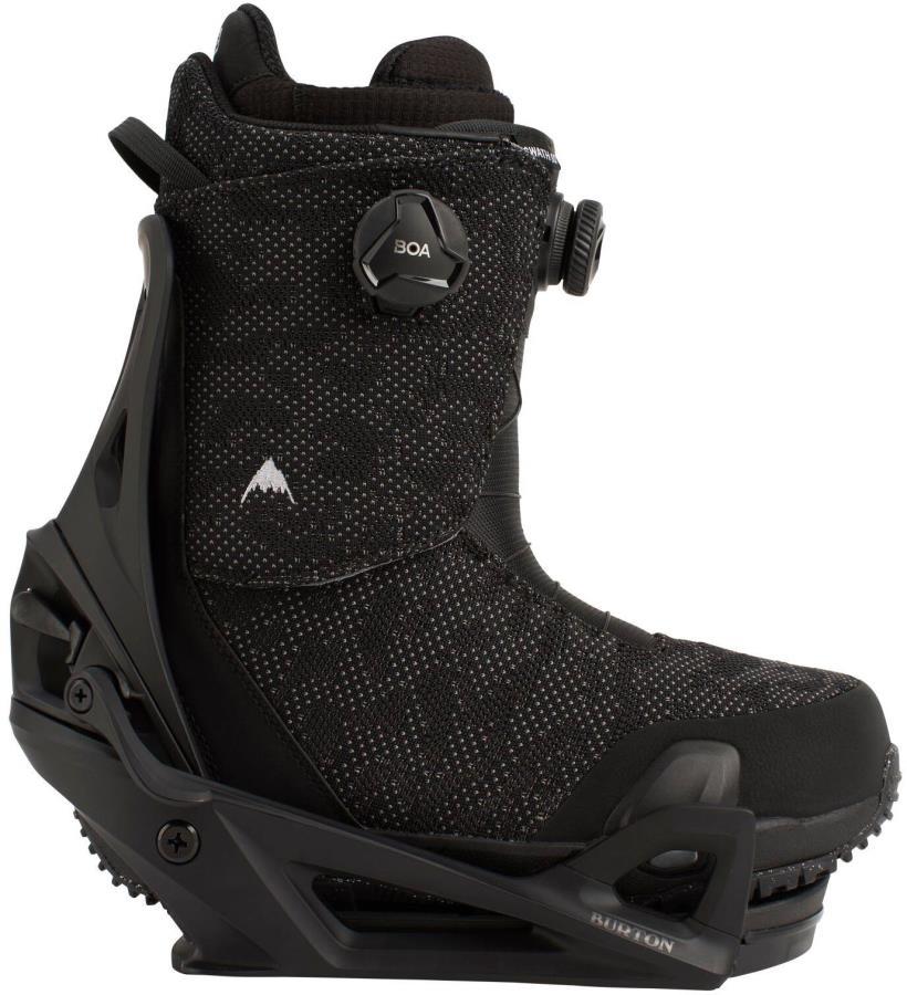 Burton Swath Boa Step On Snowboard Binding & Boots, UK 11 Black 2021