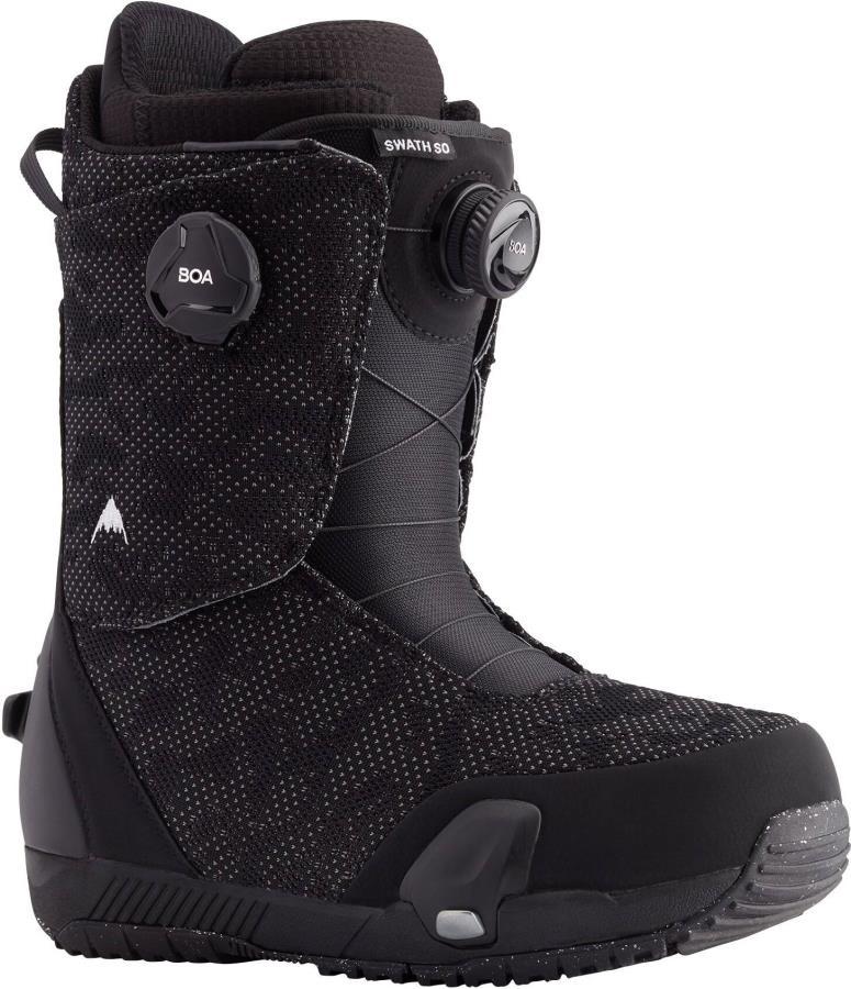 Burton Swath Boa Step On Snowboard Boots, UK 7.5 Black 2021