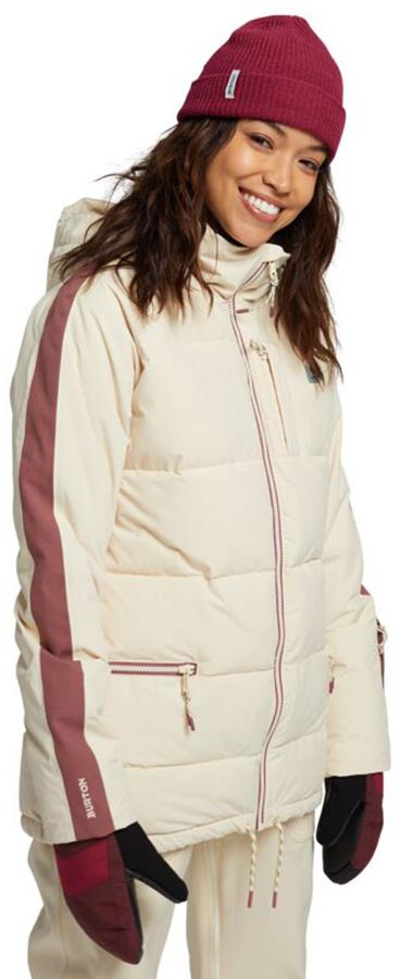 Burton Keelan Women's Ski/Snowboard Jacket, S Creme Brulee