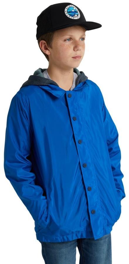 Burton Ripton Kid's Ski/Snowboard Coach Jacket, M Lapis Blue