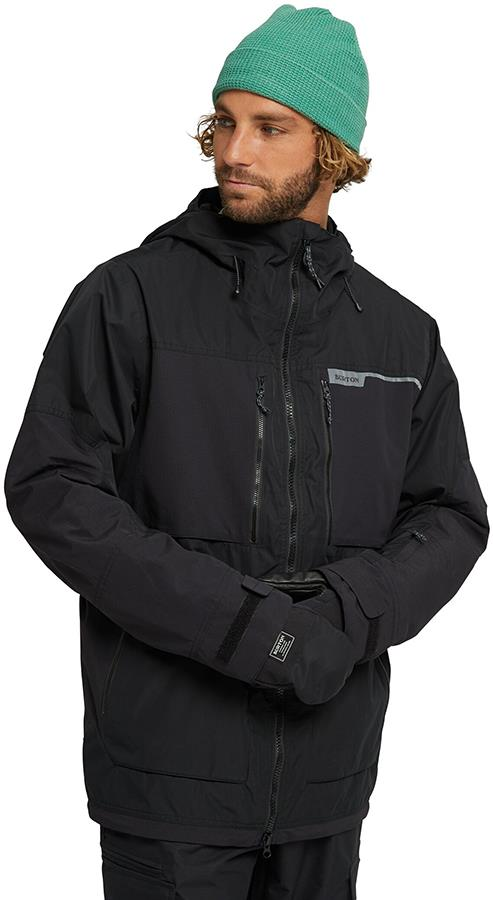 Burton Frostner Ski/Snowboard Jacket, L True Black