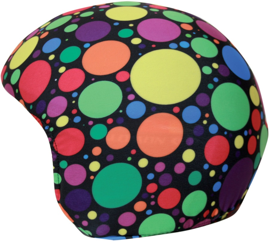 Coolcasc Printed Cool Ski/Snowboard Helmet Cover, Crazy Dots