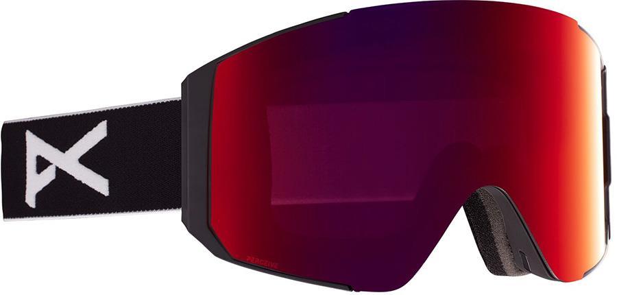 Anon Sync Perceive Sunny Red Ski/Snowboard Goggles, M/L Black