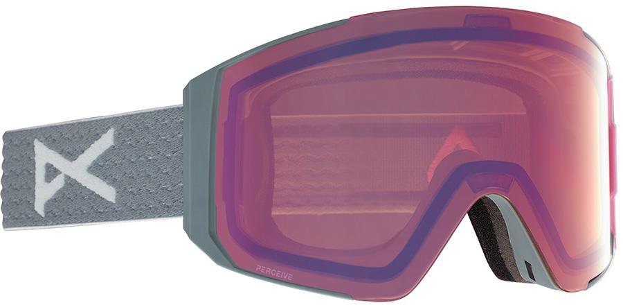Anon Sync Perceive Pink Women's Ski/Snowboard Goggles, M/L Grey Pop