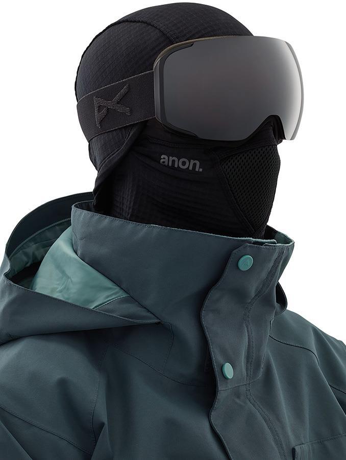 Anon Tech Balaclava MFI Fleece Facemask, Form Fit Black