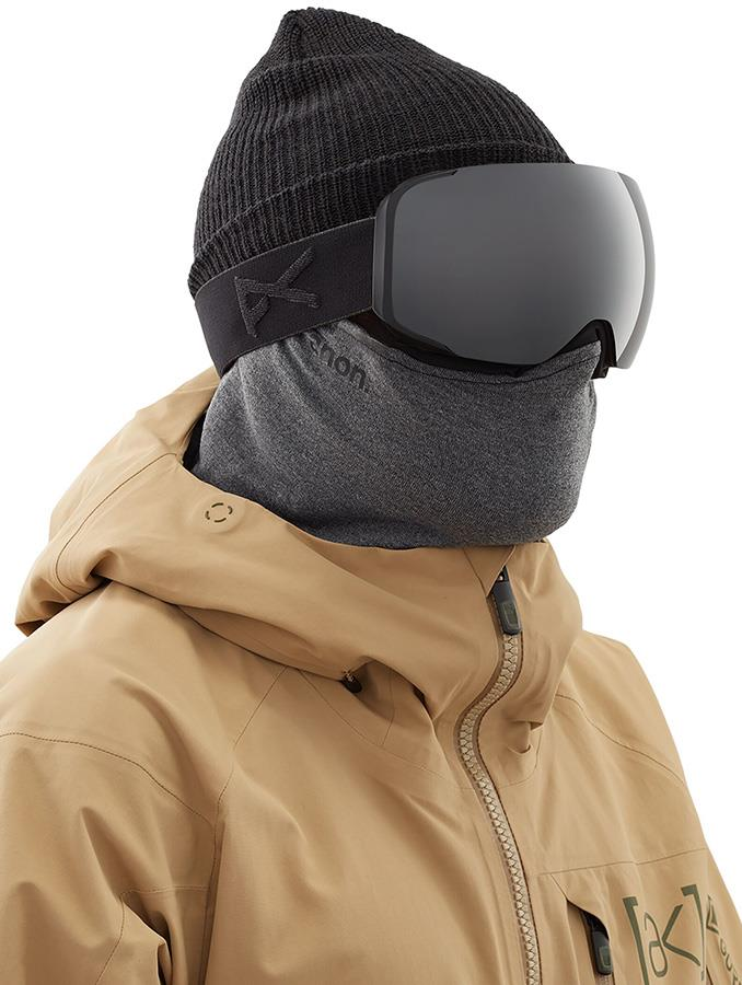 Anon Wool Neckwarmer Polartec MFI Facemask Relaxed Fit Grey
