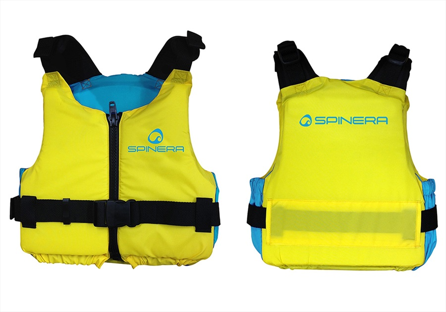 Spinera Waterpark Kayak SUP Nylon Buoyancy Vest, S-M Yellow Blue 2021