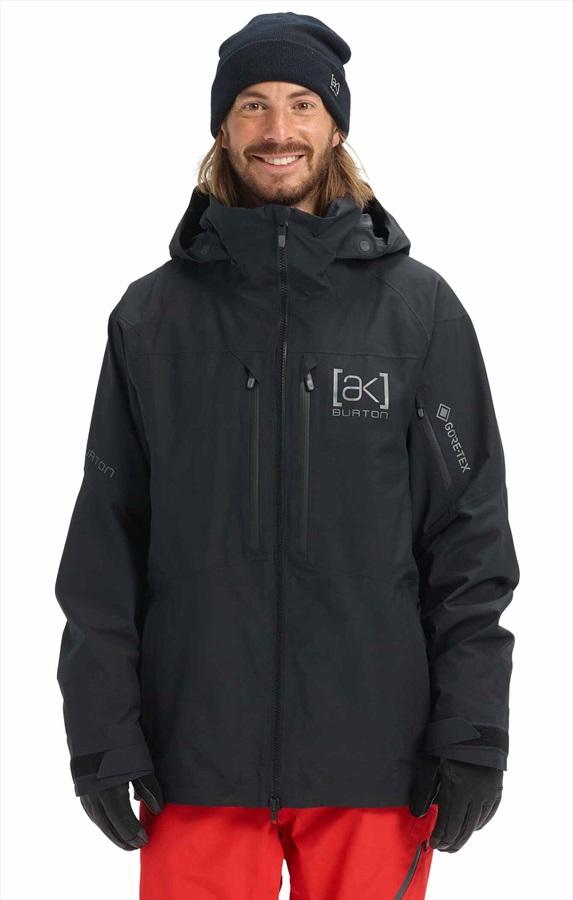 Burton [ak] 2L Swash Gore-Tex Ski/Snowboard Jacket, M Black 2022