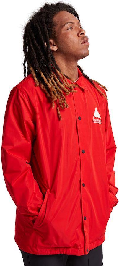 Burton Coaches Men's Ski/Snowboard Jacket, M Flame Scarlet