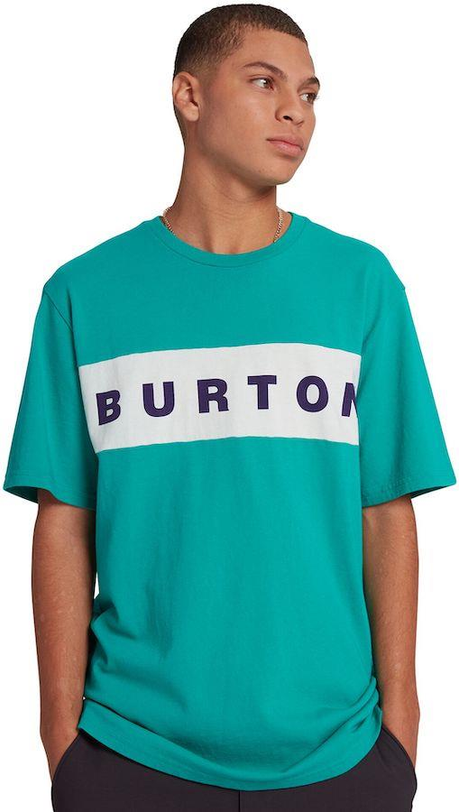 Burton Lowball Men's Short Sleeve Cotton T-Shirt, M Dynasty Green