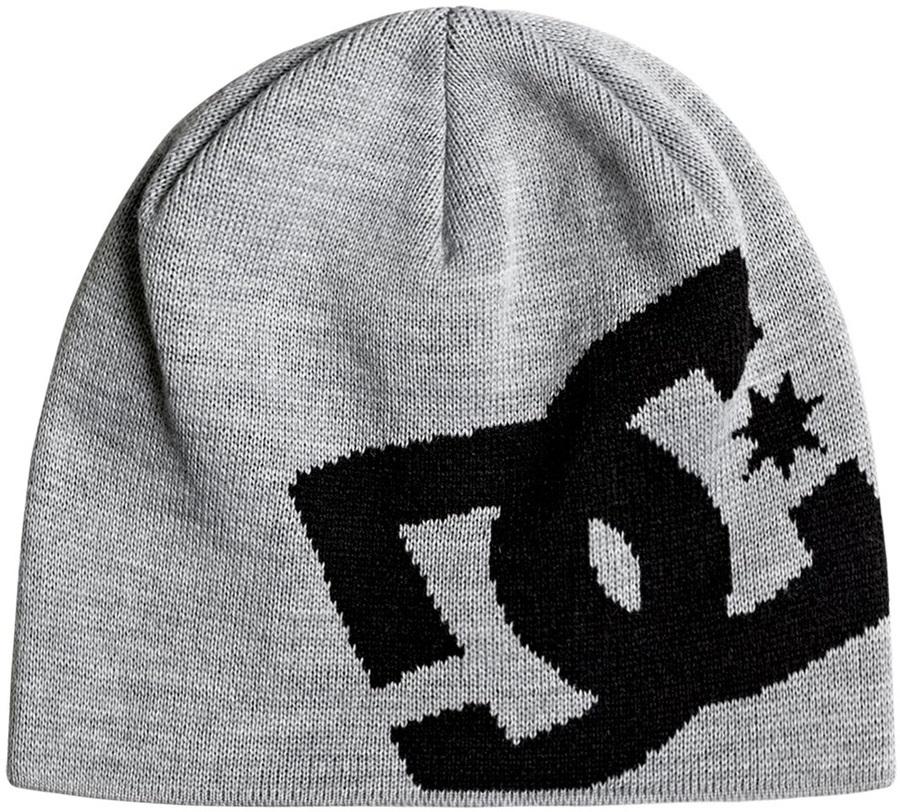 DC Big Star Ski/Snowboard Beanie Hat, One Size Grey Heather