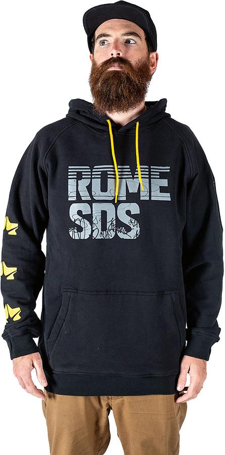 Rome Riding Hoodie Ski/Snowboard Technical Pullover, S Team