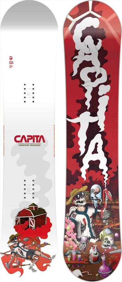 Capita Scott Stevens Mini Kids Hybrid Camber Snowboard, 135cm 2021
