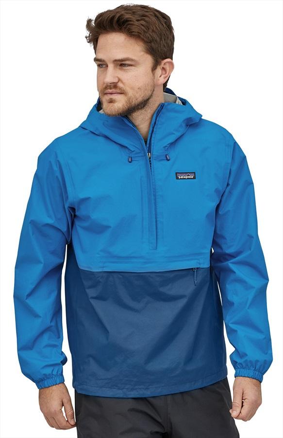Patagonia Adult Unisex Torrentshell 3l Pullover Waterproof Jacket, Xl Andes Blue