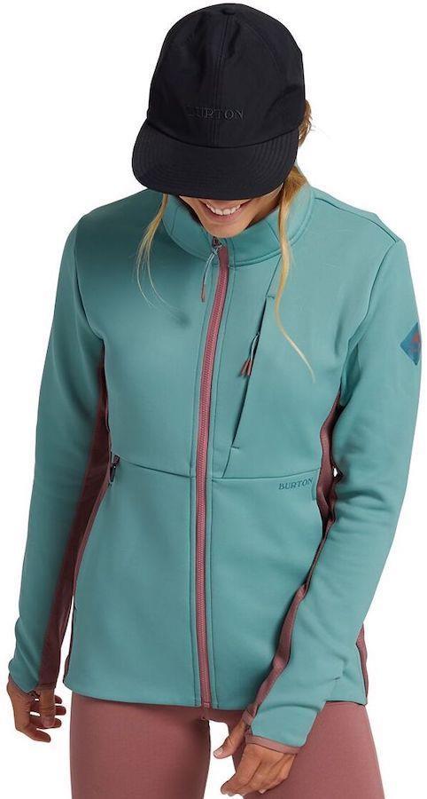 Burton Multipath Women's Full-Zip Fleece Jacket, UK 8-10 Trellis
