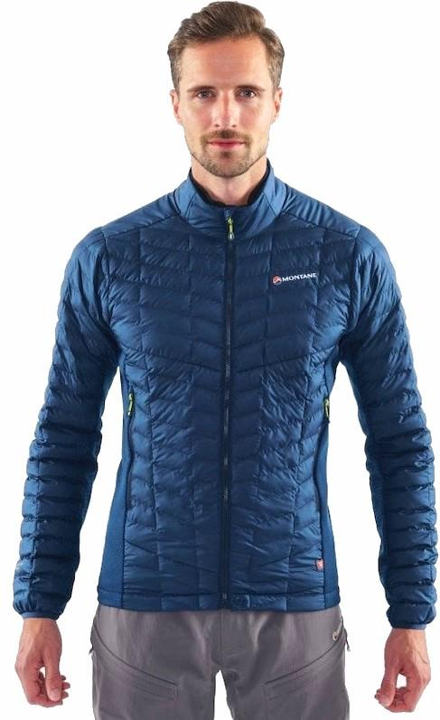 Montane Adult Unisex Icarus Stretch Micro Insulated Hiking/Walking Jacket, L Blue