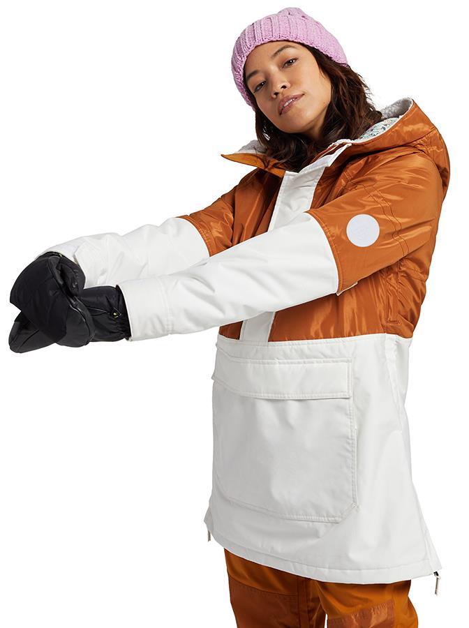 Burton Larosa Anorak Women's Snowboard/Ski Jacket, S Penny/Stout