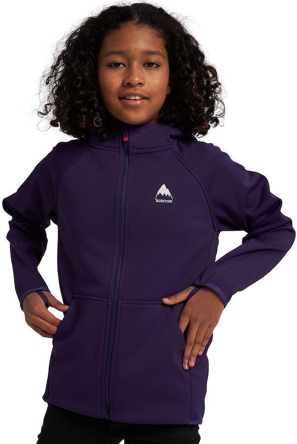 Burton Crown Weatherproof Kids Sherpa Fleece Age 10 Parachute Purple