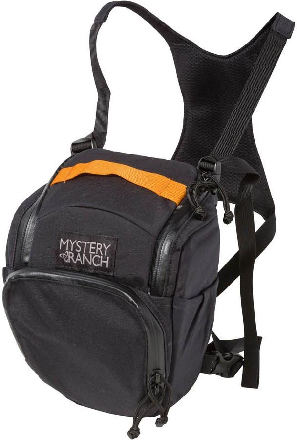Mystery Ranch DSLR Chest Rig Camera Carry Bag, 3L Black