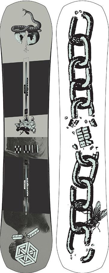 Burton Name Dropper Camber Snowboard, 151cm 2021