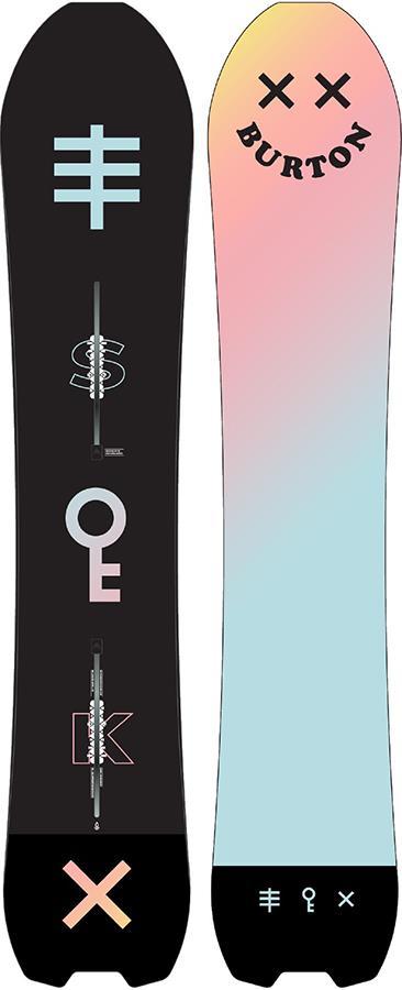 Burton Skeleton Key Positive Camber Snowboard, 162cm 2021