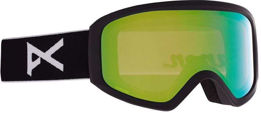 Anon Insight Perceive Green Women's Ski/Snowboard Goggles, S/M Black