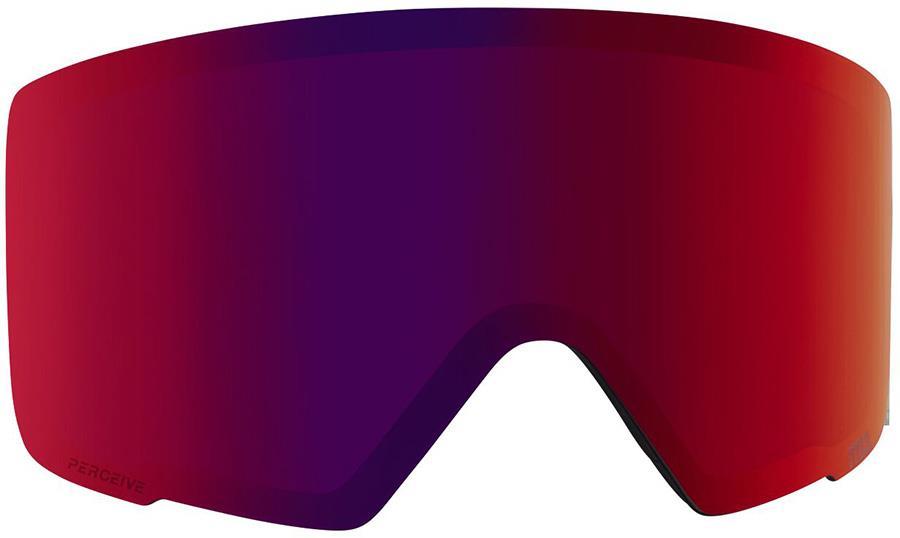 Anon M3 Ski/Snowboard Goggle Spare Lens, Perceive Sunny Red