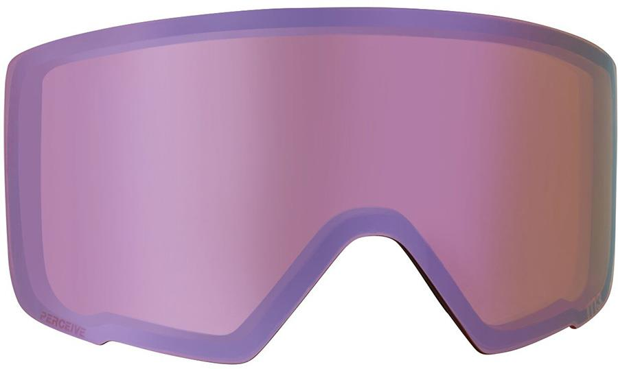 Anon M3 Ski/Snowboard Goggle Spare Lens, Perceive Cloudy Pink
